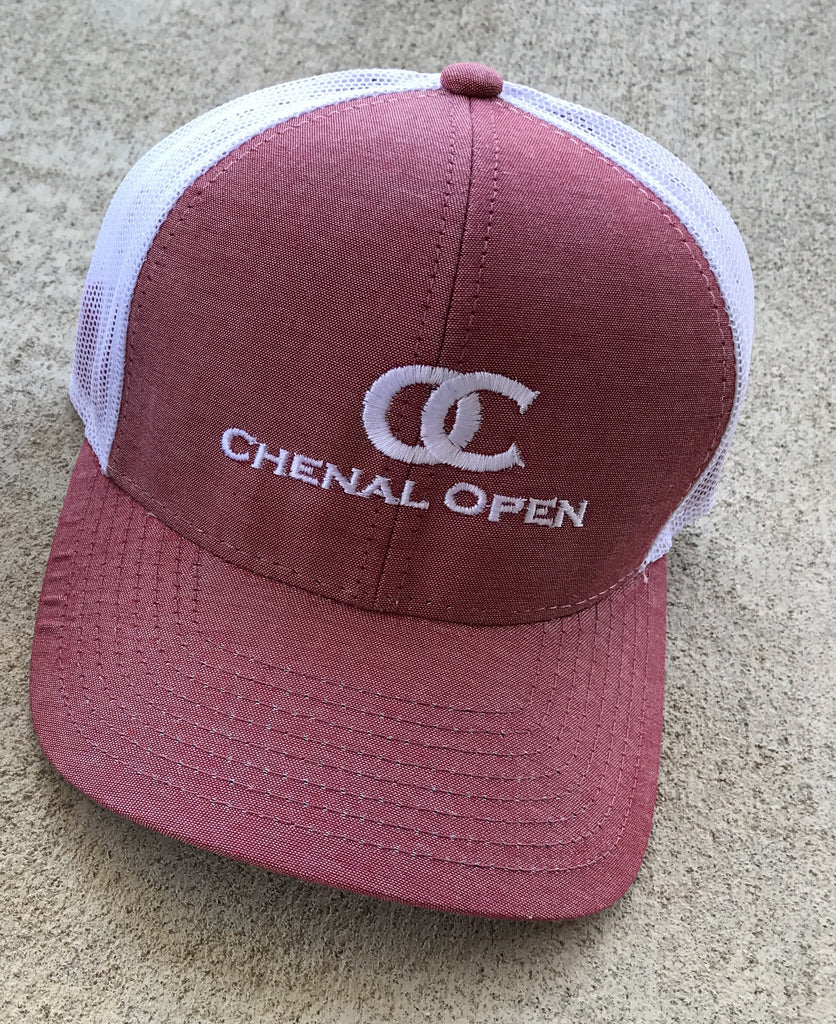 Chenal open heather red cap