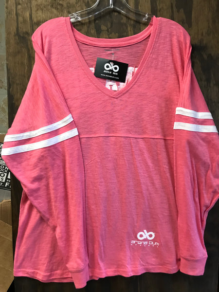 Coral jersey long sleeve