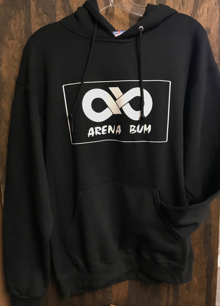 Black and White Patch hoody