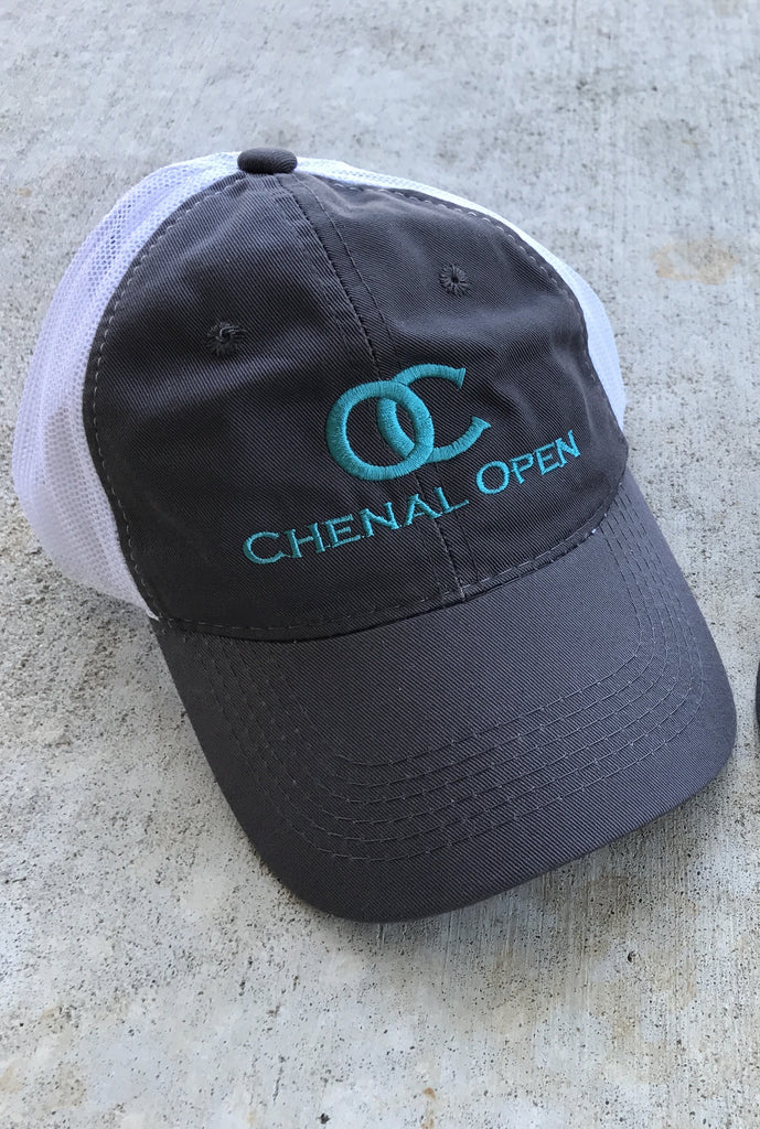 Chenal open grey & turquoise cap