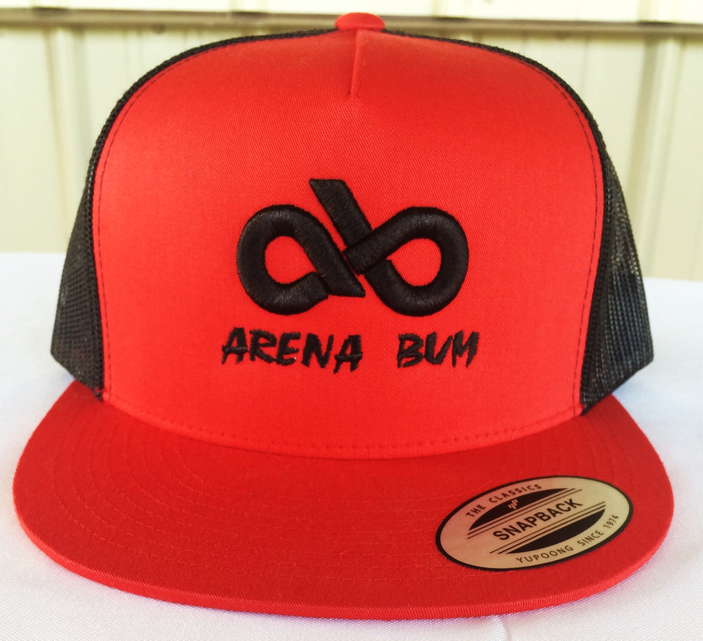 RED/BLK MESH CAP