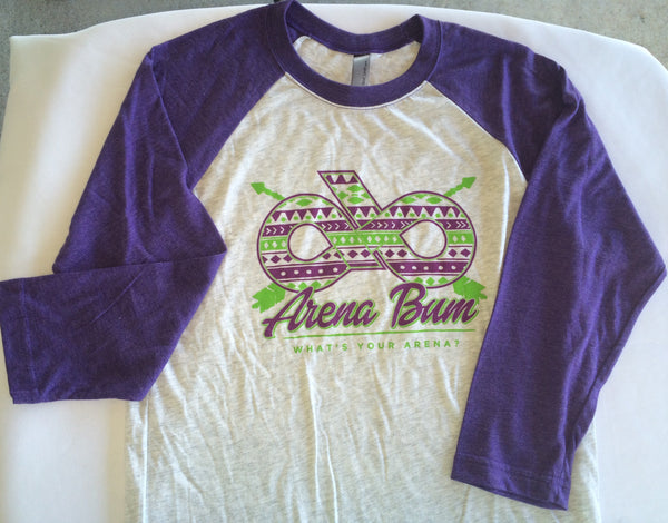 PURPLE AZTEC BASEBALL
