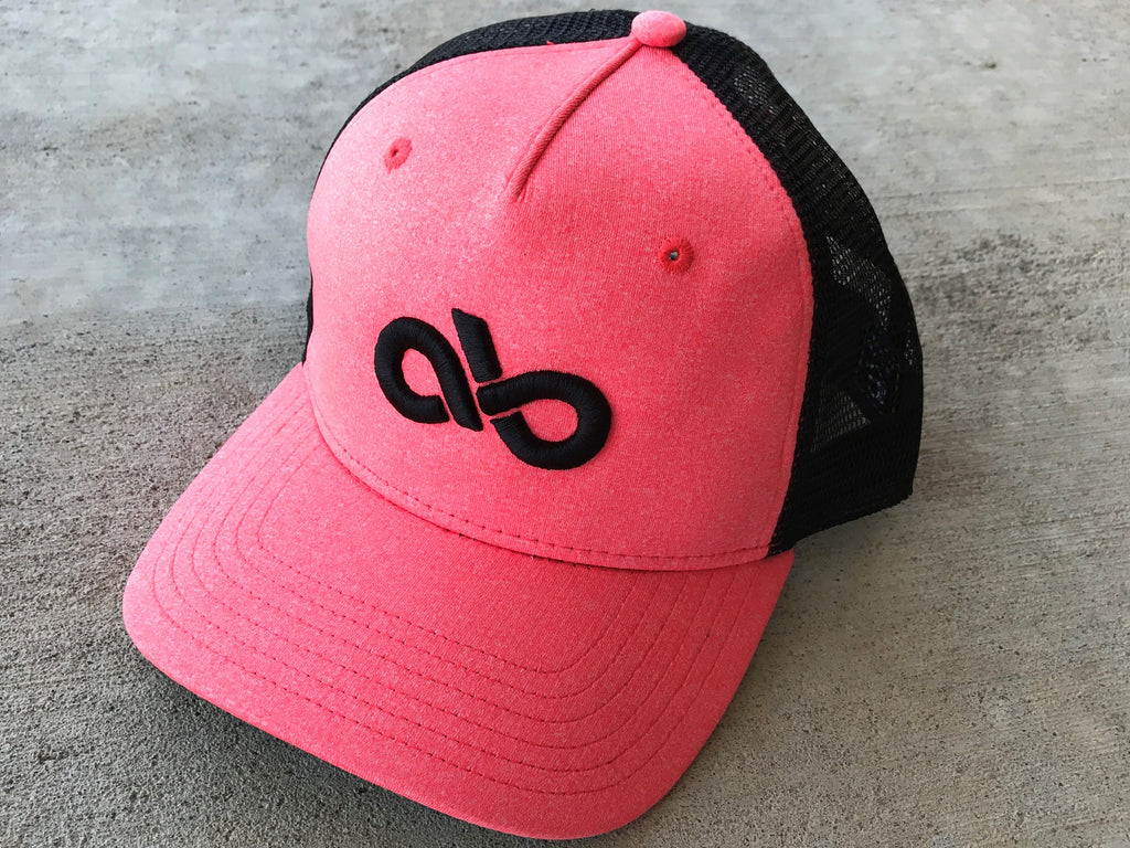 HEATHER CORAL/BLK SNAPBACK