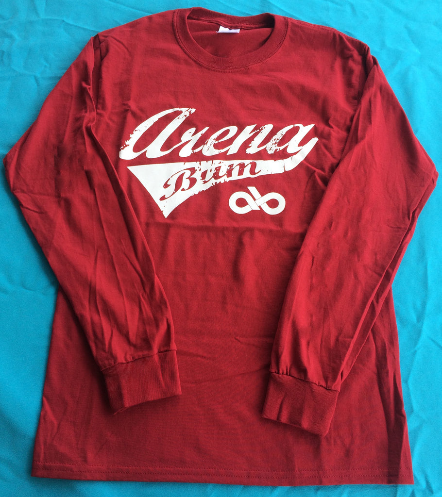 RED/WHITE long sleeve