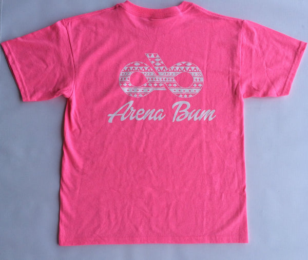 Youth Pink Aztec Tee