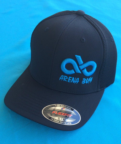 BLACK/TQ FITTED CAP