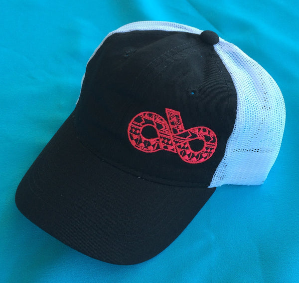 Youth Pink Aztec cap