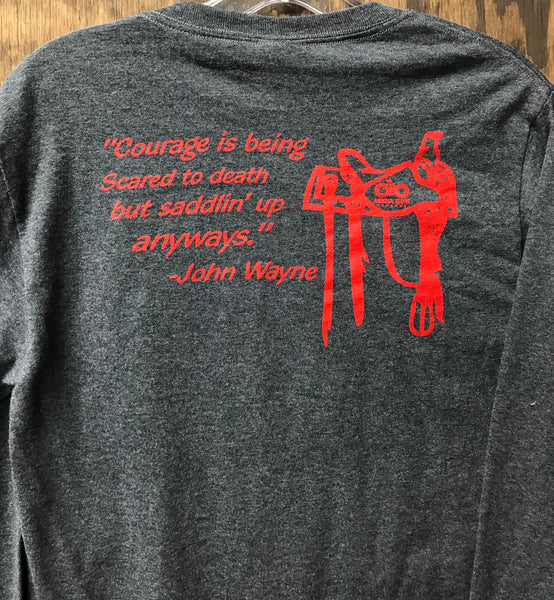 John wayne long sleeve