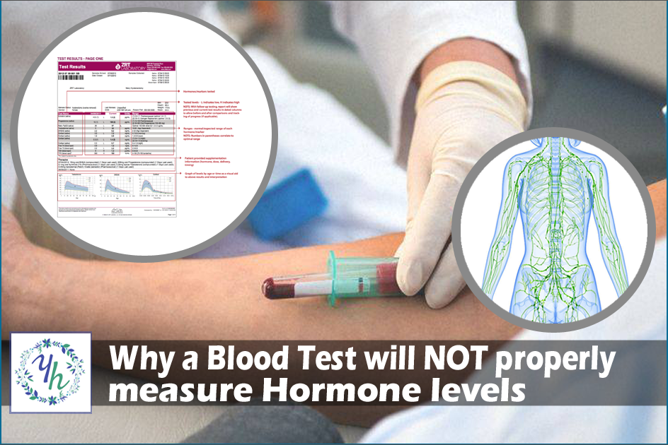 Why a Blood Test will NOT properly measure Hormone Levels
