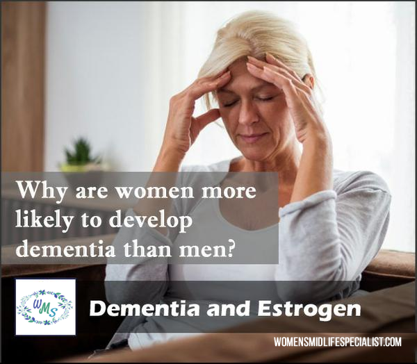 Why are Women More Likely to Develop Dementia than Men?