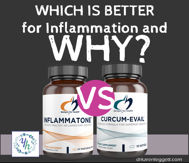 Is Inflammatone a better product than Curcumin-Evail for Inflammation?