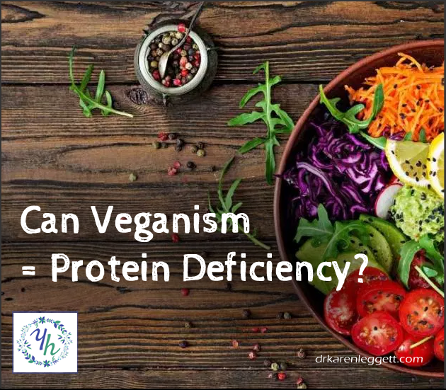 Can Veganism = Protein Deficiency?