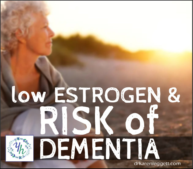 Estrogen Levels can Influence Risk of Alzheimer's and other forms of Dementia