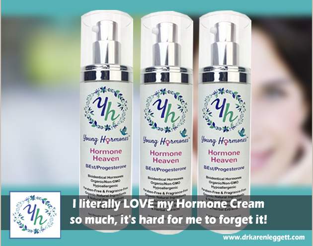 I literally LOVE my Hormone Cream so much, it's hard for me to forget it!