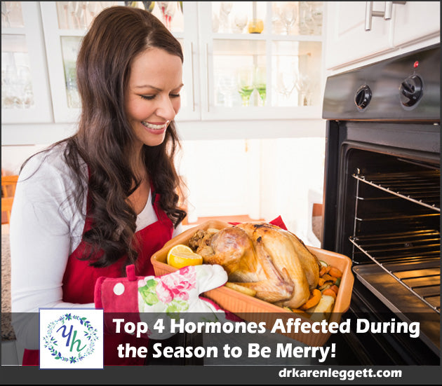Top 4 Hormones Affected During the Season to Be Merry