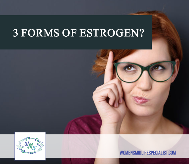 Did you know that there are actually THREE forms of Estrogens?