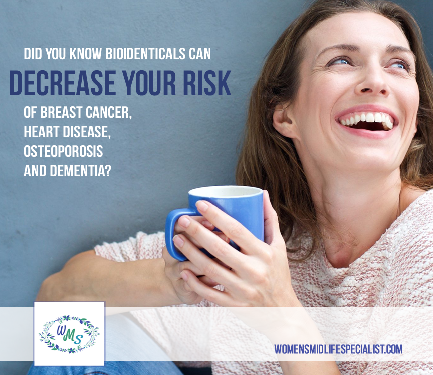 DECREASE your risk of Breast Cancer, Heart Disease, Osteoporosis and Dementia?
