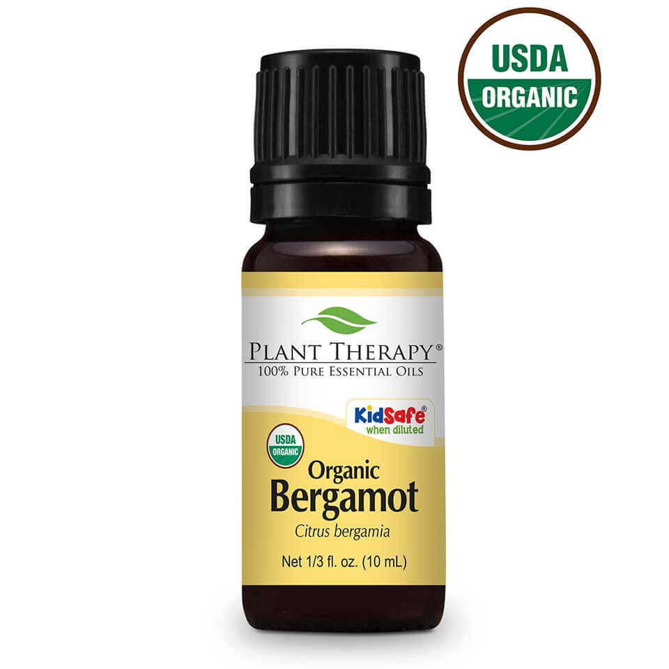 Bergamot Organic Essential Oil 10 mL