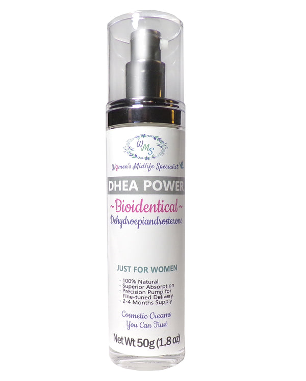 DHEA POWER - DHEA USP in an All Natural Cream - 200 Pumps Per Bottle!