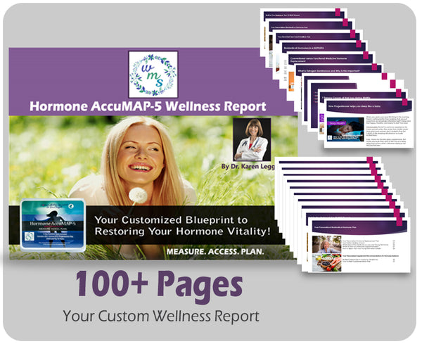 Custom Wellness Report Only (To Go With Previously Purchased AccuMAP-5 Test Kit)