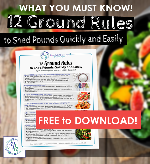 12 Ground Rules to Shed Pounds Quickly and Easily