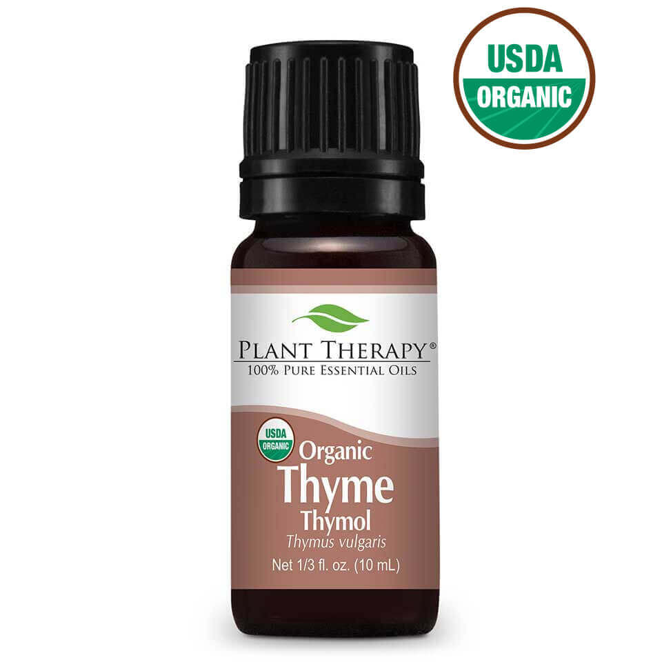 Thyme Thymol Organic Essential Oil 10 mL