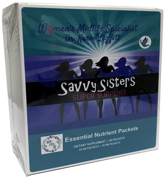 SAVVY SISTERS SUPER SUPPORT Essential Nutrient Packets