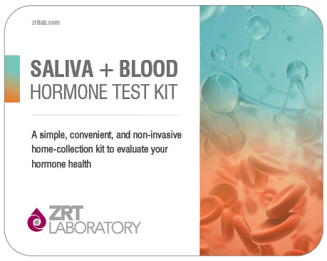 Test Kit - Comprehensive Female Profile One (Includes Thyroid) - 12 Tests: Estradiol (E2), Progesterone (Pg), Pg/E2 Ratio, Testosterone (T), DHEA-S, 4-Point Cortisol (C4), TSH, fT3, fT4, TPOab