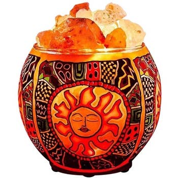 Tribal Sun Salt Lamp Diffuser
