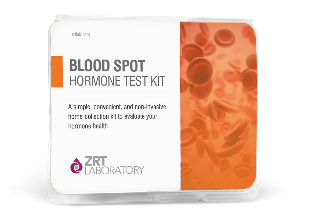Test Kit - Female Blood Spot Profile One - 6 Tests: Estradiol (E2), Progesterone (Pg), Pg/E2 Ratio, Testosterone (T), SHBG, DHEA-S (DS), Cortisol (C)