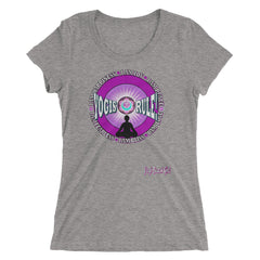 """Yogis Rule #1 Ladies' Short Sleeve Tri-Blend Tee"