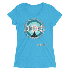"""Yogis Rule"" #2 Ladies' Short Sleeve Tri-Blend Tee"