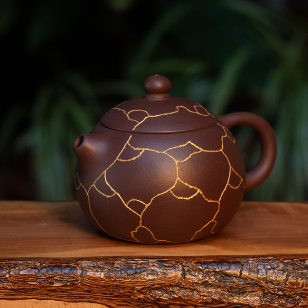"""Kintsugi"" Yixing Pot"
