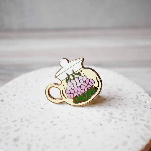 Blooming Tea pin