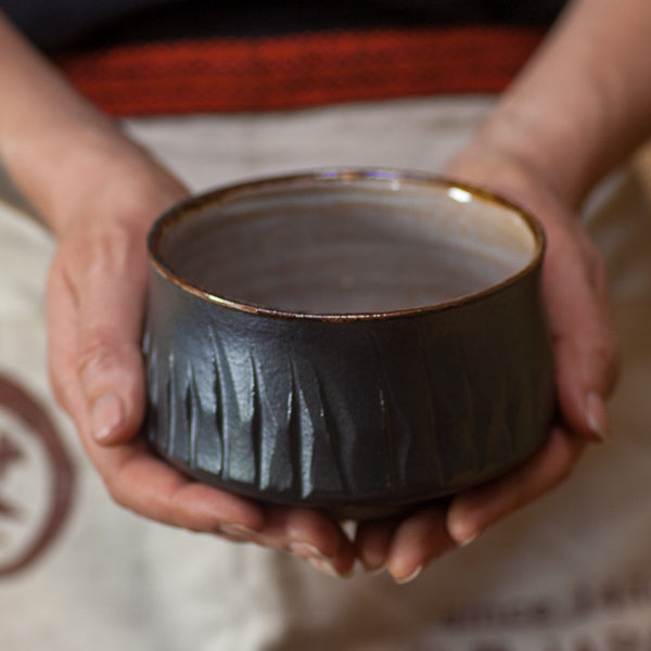 Carved Chawan