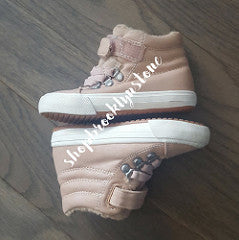 Zara Faux Shearling Baby Sneakers - SALE!!
