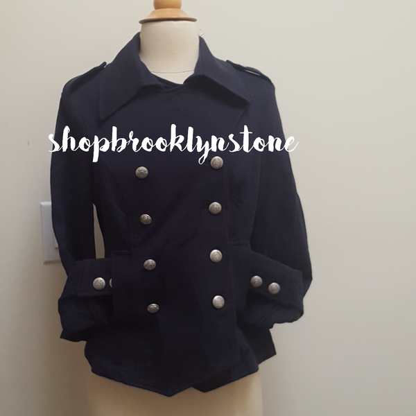 SANCTUARY FITTED MILITARY INSPIRED JACKET - SALE