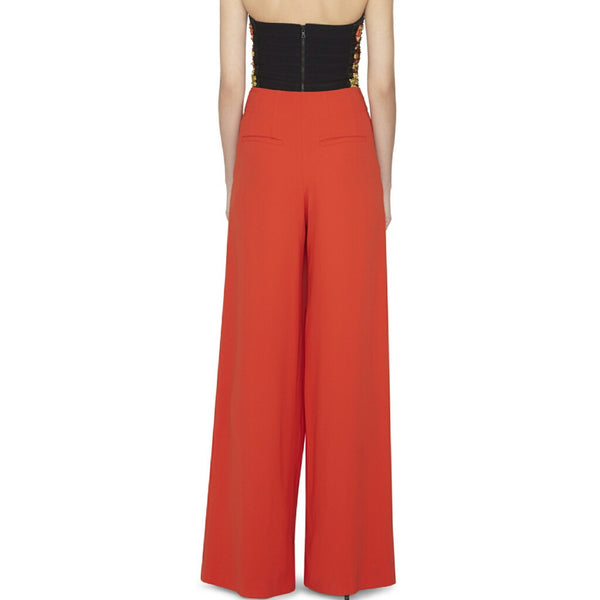 High Waist Wide Leg Palazzo Pants - SOLD