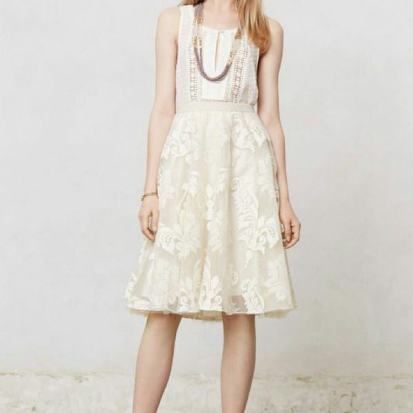 Yoana Baraschi for Anthropologie Emerline Tulle Skirt - SOLD!