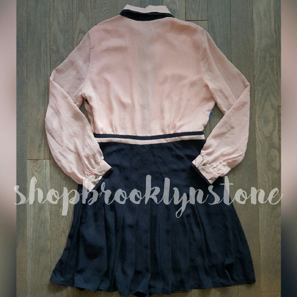 Beautiful Long Sleeve Button Up Dress - SALE!