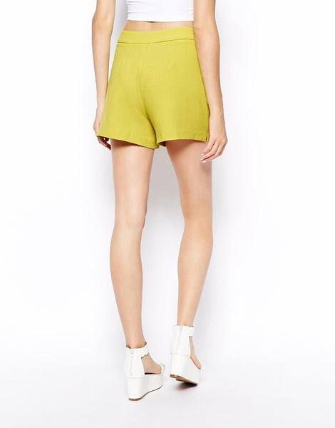 ASOS Petite Hammered Crepe Shorts - SOLD!