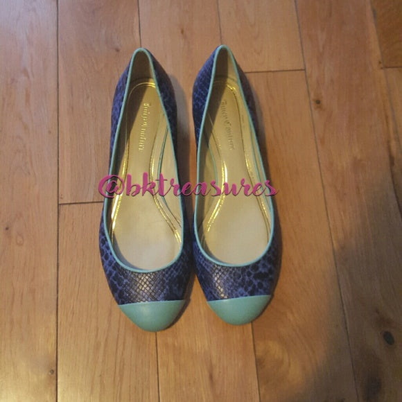 Juicy Couture Round Toe Flats - SALE!