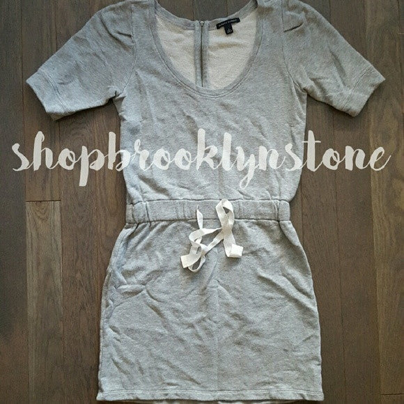 Banana Republic Grey Drawstring Waist Dress - SALE!