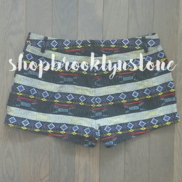 Aztec/Tribal Print Shorts - SALE!!