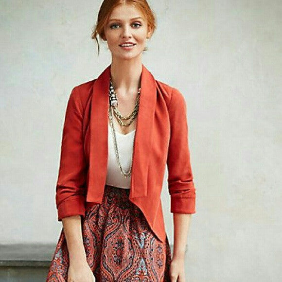 Anthropologies Cartonnier Ruched Blazer NWT - SOLD!!