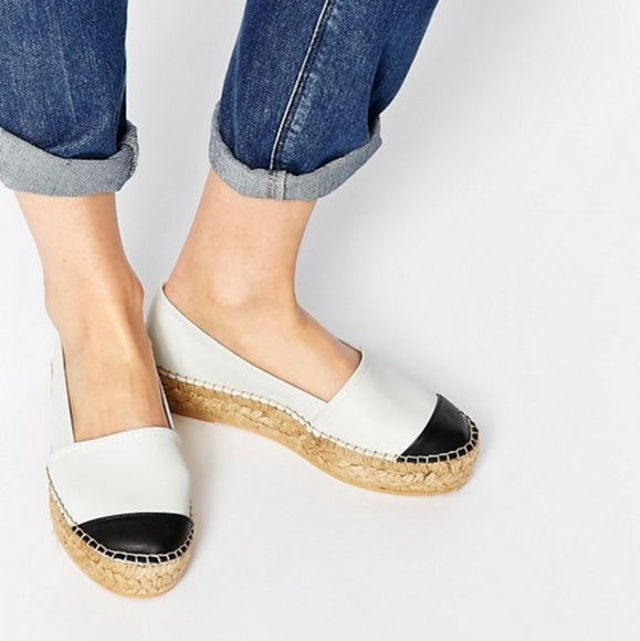 Kurt Geiger Mellow Leather Espadrille - SOLD!!!