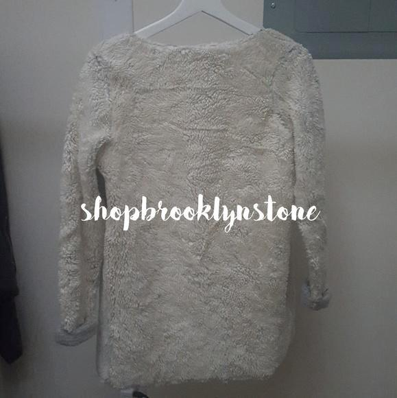 Topshop Ivory Open Sweater - SALE!!