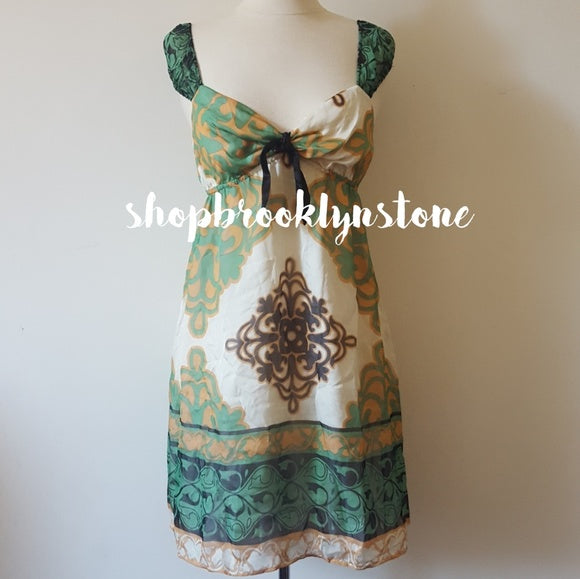 Hale Bob Silk Print Mini Dress Tunic - SALE!!