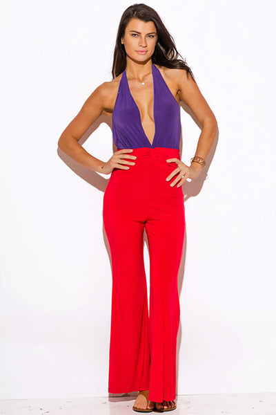 Color Block Jumpsuit - SALE!