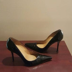 Stuart Weitzman Black Patent Pumps-SOLD!!